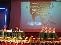 Asia Democracy Index launched at the conference