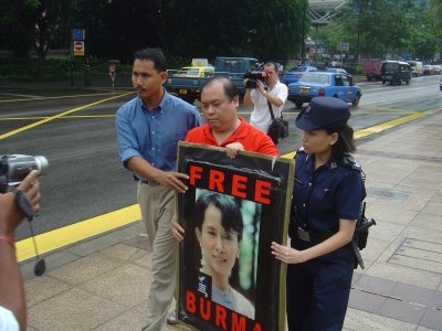 """Free Burma"", and don't forget Singapore"