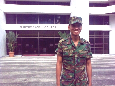 Shafi'ie fighting for Singapore